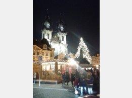 Vánoční trhy - Staroměstské náměstí