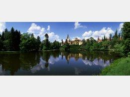 Průhonice - park a zámek (UNESCO) foto Ing. Lubomír Čech
