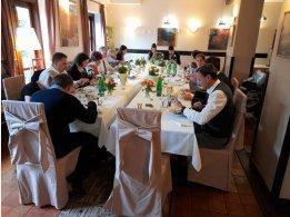 Svatební tabule- restaurace