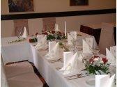 Svadobný stôl - čelo