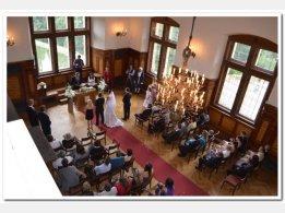 Obřad na zámku - Rytířský sál