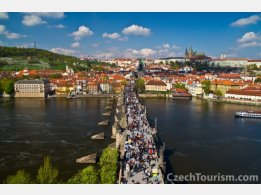 Praha - Hrad, Karlův most a Petřín