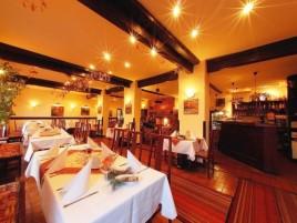 Restaurace Tarouca v Parkhotelu Průhonice - s krbem, letní zahrádkou a výbornou kuchyní