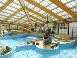 Aquapark Čestlice - cca 300 m od Parkhotelu Průhonice