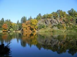 Park Průhonice - rybník Bořín